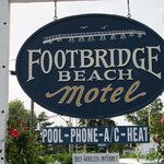 Footbridge Beach Motel Foto