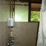 The Shower area