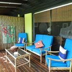 relax and enjoy the tropical ambience