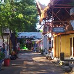 Main street on Gili Trawangan