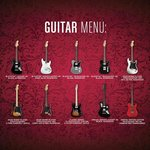  Guitar Menu