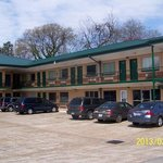 Scottish Inns Tupelo MS, Parking area