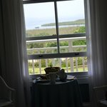 View from inside our room in the house. Fantastic fruits in a basket on checkin.