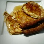 Pancakes at Liguanea Club