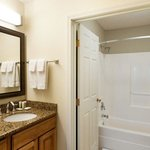  Large, updated bathrooms with separate vanity