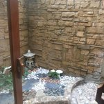 outside shower of villa plus