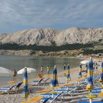  Baska beach in end of June