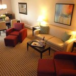  living room of Suite #2