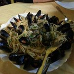  Spaghetti con cozze e vongole