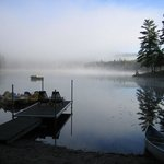  Early morning waterfront on private lake