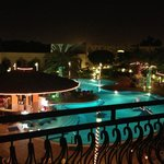  View from my suite for Al Ain Rotana Hotel Pool area