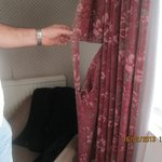 Curtains in bedroom.........