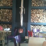 Lovely log burner