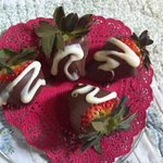  Chocolate covered strawberries were wonderful!