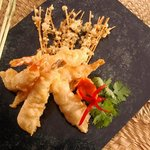  Red Sea shrimp Tempura at the Fish Market Restaurant