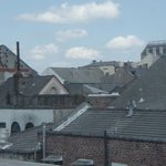 View of the rooftops of the Quarter from our room