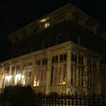 The house, at night
