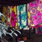 Their designs and colors on cloth for sale