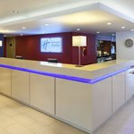  Reception at the Holiday Inn Express hotel in Milton Keynes