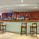 The licensed bar at our Holiday Inn Express Newport hotel