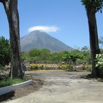  View of Volcan Conception from the Hotel Lobby