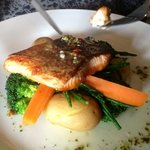 Salmon and samphire....