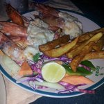  tiger prawns