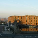 View from our room,3rd floor,7am,Albert dock.