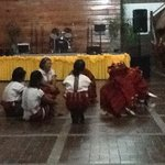  cultural show in the lobby
