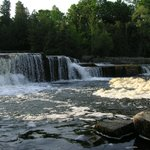 We&#39;re 400 feet up river from Historic Sauble Falls - a Natural fish ladder in spring &amp; fall!