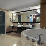  Bathroom with Jacuzzi on our Presidential Suite
