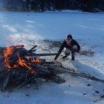 Our big ice lake fire