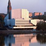 Finlandia Hall by Töölö Bay