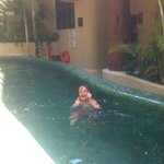  The kids enjoyed the pool at Maya Villa