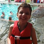 My son loved the POOL!!