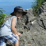  Dane Hodges atop Saipan&#39;s Suicide Cliff a WWII historical site