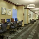 Business Center Hallway