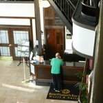  Front Desk and Atrium
