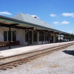 View of Southern Pines Train Depot