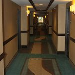 Hallway outside room