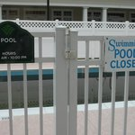  Closed pool area...its February...