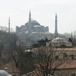 Hagia Sofia from Olive Restaurant 2