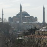 Hagia Sofia from Olive Restaurant 3