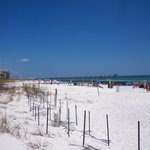 beach outside of Hampton Inn, Ft. Walton Beach, FL