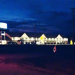  Well lighted parking lot at ABVI motel. Near restaurants and fuel.