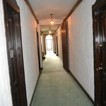 Hallway to our room door