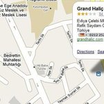 Grand Hotel Halic Map