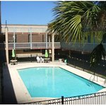  Scottish Inns Galveston TX, Swimming Pool