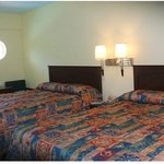 Scottish Inns Galveston TX, 2 Double bed
