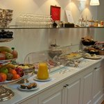 Breakfast Buffet at Hotel Damier Kortrijk